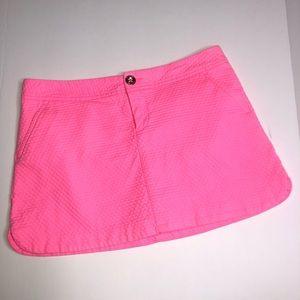 Lilly Pulitzer Lorelei skort Tiki Pink size 0